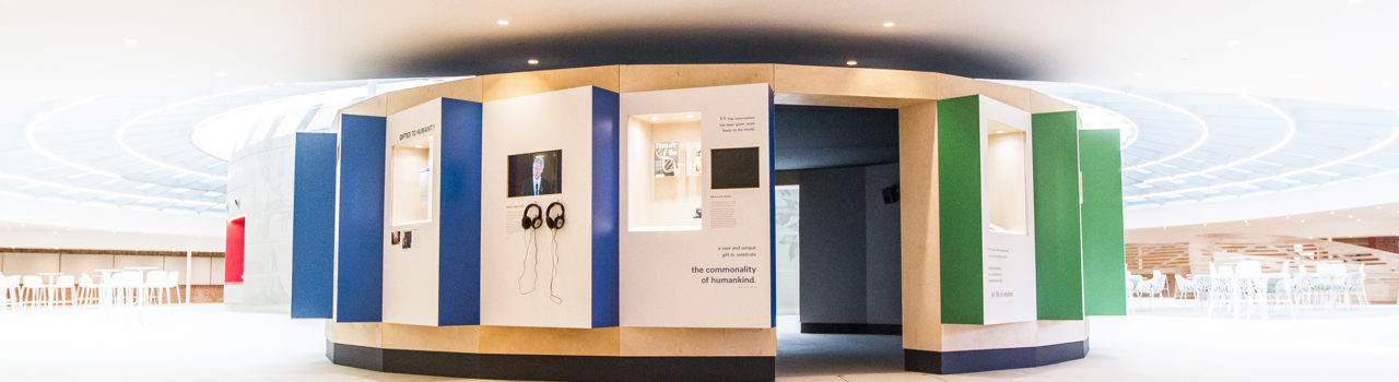 Image of the Cultural Zone in the Conference Centre Exhibition Space