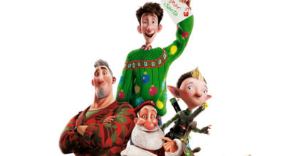 Image from Arthur Christmas film poster