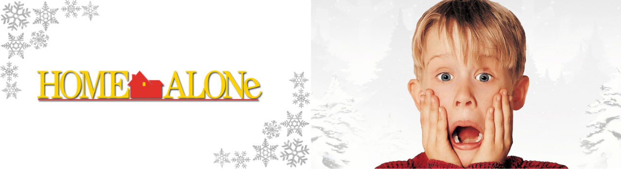 Home Alone website banner