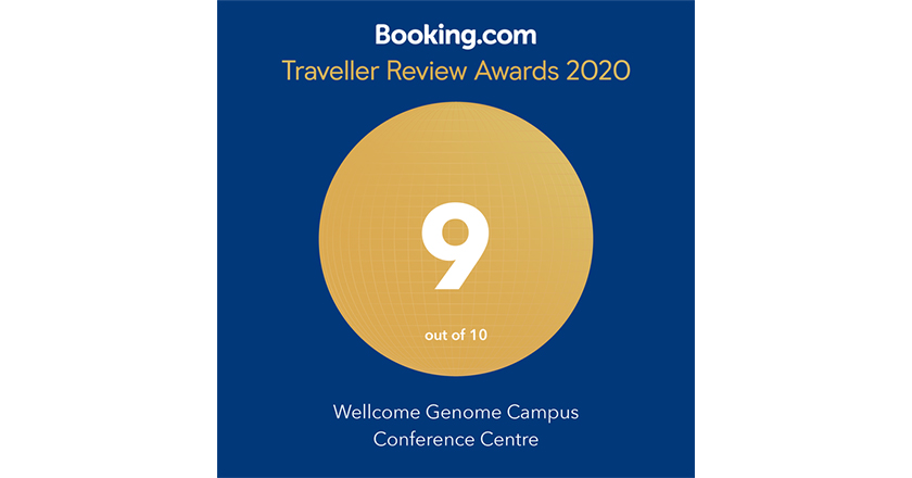 Booking.com Traveller Review Award 2020 - 9/10