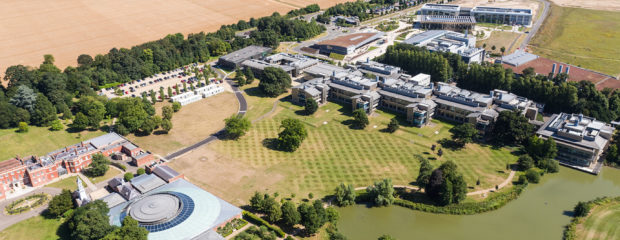 Aerial image of Campus